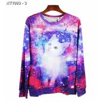 Áo thun nam galaxy hình con mèo Mã: NT1093 - 3