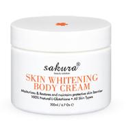 Kem dưỡng da trắng da cơ thể  ban đêm Sakura Skin Body 200ml