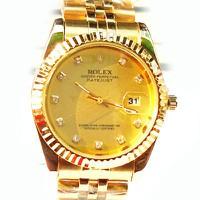 Đồng hồ Rolex dây vàng mặt vàng
