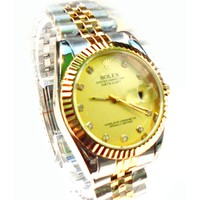 Đồng hồ Rolex bạc mặt vàng 01 ROLEXDAYBACVANGMATVANG01-330