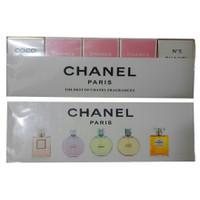 Set bộ dầu thơm 5 mùi Chanel mini cao cấp-MP260