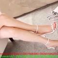 Giày cao gót công sở trắng kiểu thiết kế đẹp thời trang GC117