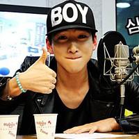 Nón hip hop chữ BOY NK308