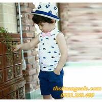 Bộ Little Mon bé trai BB700