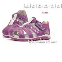 Dép sandal xuất Nga cho bé gái 1- 3 tuổi SL6