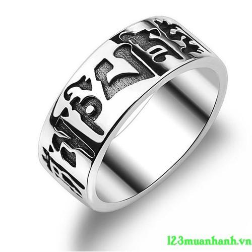 Nhẫn khắc thần chú Úm ma ni pad mê hùm