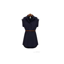 Áo dạng váy phong cách châu âu, kèm thắt lưng AV61X