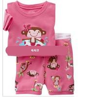 Bộ baby Gap cho bé gái 1-6 tuổi màu hồng dễ thương