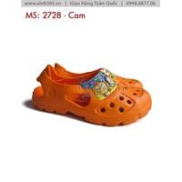 Giày Sandal Trẻ Em -2728 - Màu Cam