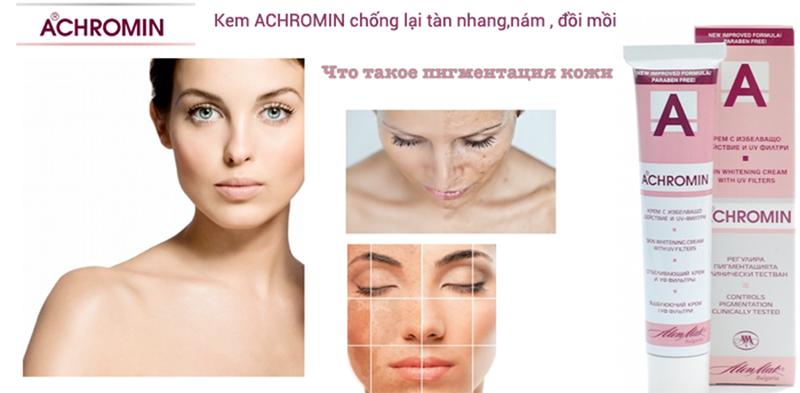 Kem đặc trị nám tàn nhang ACHROMIN Nga 5