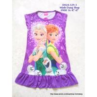 Đầm Elsa - Frozen 2 đẹp cho bé diện ngày hè