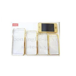 Ốp Trong Mạ Vàng Đơn Giản Cho iPhone 6+