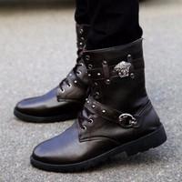 Giày boot nam cổ cao BG-27