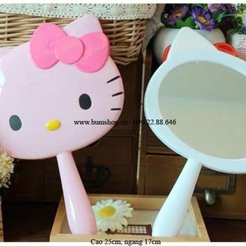 Gương cầm tay kitty siêu kute