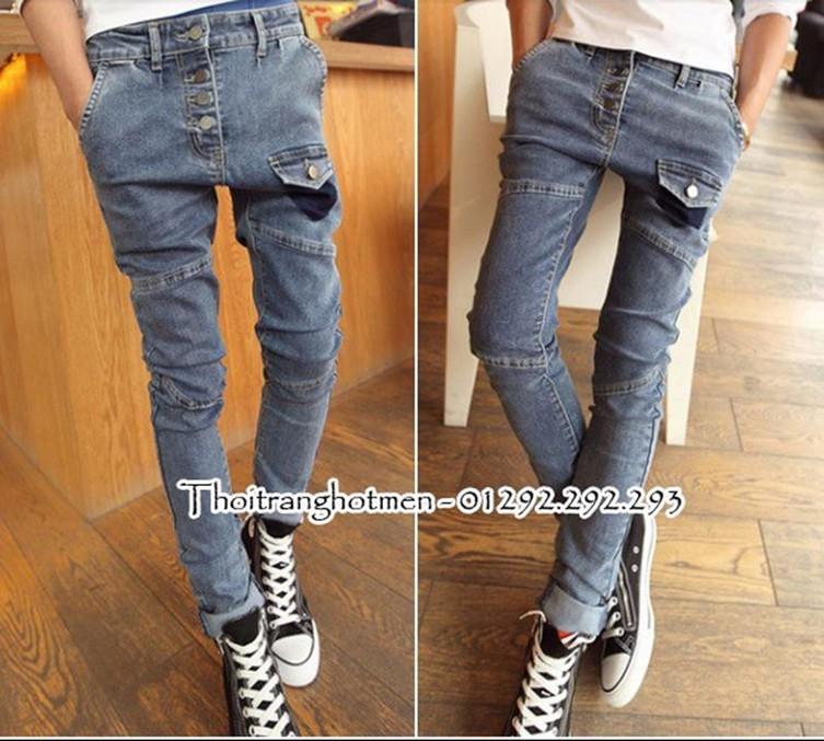 Quần Jean nam thời trang Hàn Quốc siêu hot 2015 - QJ32 2