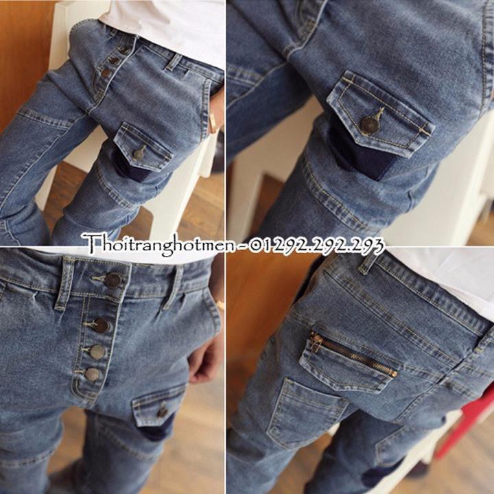 Quần Jean nam thời trang Hàn Quốc siêu hot 2015 - QJ32 4