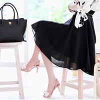 Chân váy xòe xếp ly vintage cao cấp CV026