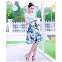 Set chân váy hoa + áo voan HÀNG CAO CẤP - TALV610
