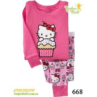 Tinker Bell Kids - Bộ GAP dài 668 - Kitty Cupcake