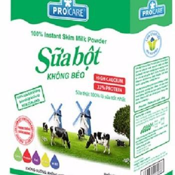 Sữa bột Procare Newzealand dành cho người tiểu đường