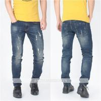 Quần jeans nam rách bụi