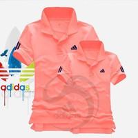Mao Mao - Áo Cặp Đôi Adidas Cao Cấp - Màu Hồng Cam - AD_15