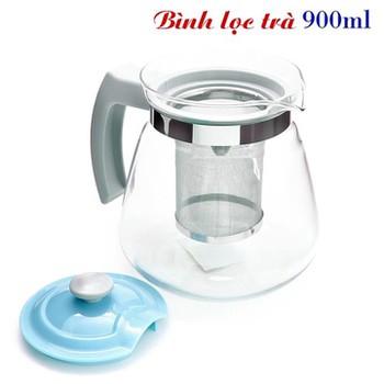Bình lọc trà thủy tinh tiện dụng