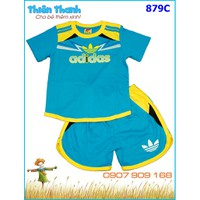 Bộ cotton thể thao Adidas cho bé trai từ 12-50kg