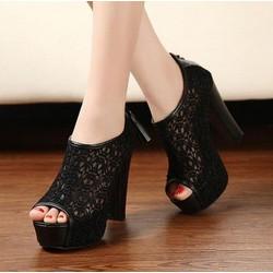 Mã số 59895 - Giày cao gót sành điệu