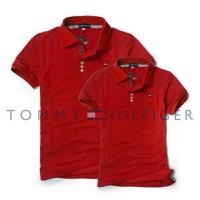 Mao Mao - Áo Cặp Đôi Logo TOMMY Cao Cấp - Màu Đỏ Tươi