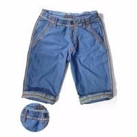 NK 0606 - Quần Short Jeans Nam Xanh Nhạt Phong Cách - QR_02