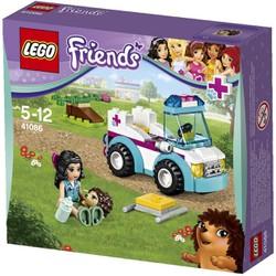 Bộ lắp ráp Xe cấp cứu thú nuôi - LEGO Friends 41086 Vet Ambulance