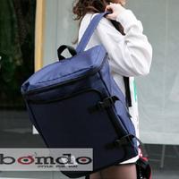 Balo nắp gập thương hiệu S.M.T, mẫu mới nhất -thời trang Bomdo- BL32