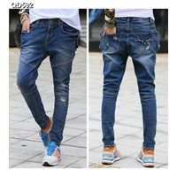 Quần jeans nữ túi rách Mã: QD592