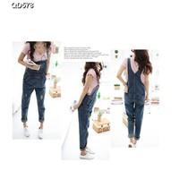 Quần jeans nữ dài yếm Mã: QD578