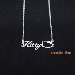 [Greenlife Shop] DX564 - Dây chuyền chữ Kitty
