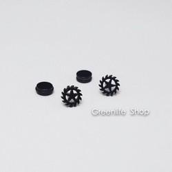 [Greenlife Shop] BX446 - Khuyên tai inox ngôi sao răng cưa