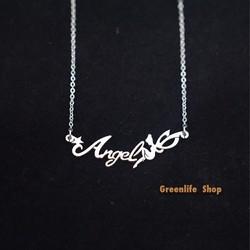[Greenlife Shop] DX565 - Dây chuyền chữ Angel