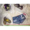 Hè Fashion : Quần short jean hàng thái cao cấp thời trang hè QS31