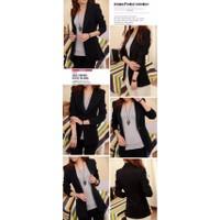 Áo vest nữ form dài 1 nút