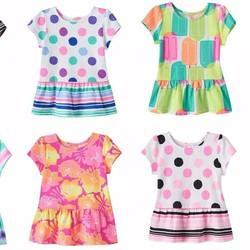Áo váy Jumping Beans cho bé gái 4-7T