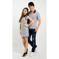 Áo phông nam - váy nữ đôi HT202