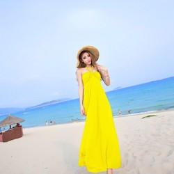 Đầm maxxi đi biển mùa hè ddp08330