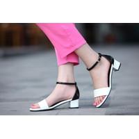 Koin - Giày cao gót quai ngang phối màu CG67 - bảo hành 1 năm