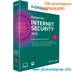 KASPERSKY INTERNET 2014 1PC
