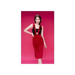 Hàng thiết kế - Đầm ôm body hở ngực Ngọc Trinh D124