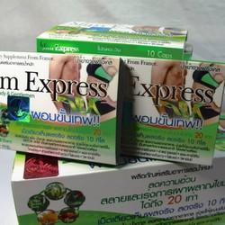 Viên Giảm Cân Slim Express Thái Lan linh chi chính hãng cho nam và nữ