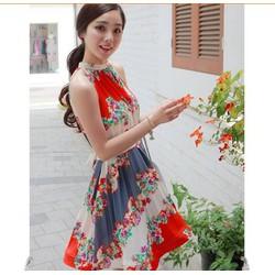 Mã MM80305 - Đầm hoa duyên dáng, thanh lịch