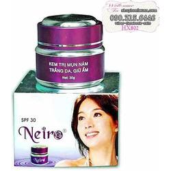 Kem trị mụn thâm nám trắng da dưỡng ẩm Neiro - HX802