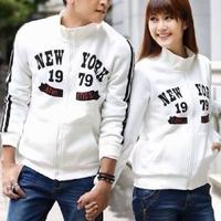 Aó khoác cặp màu trắng logo đẹp giá rẻ nhất cho mùa hè